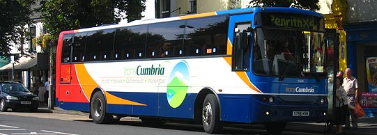 Stagecoach Cumberland route x4 bus