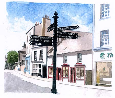 Cockermouth - Market Place - by Trevor Green